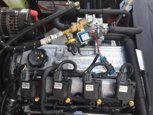 động cơ nissan xe nâng heli
