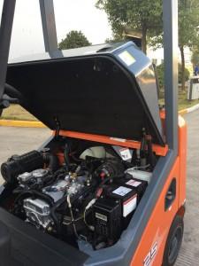 động cơ xe nâng xăng gas